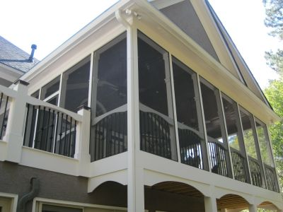 Screened Porch in Woodstock